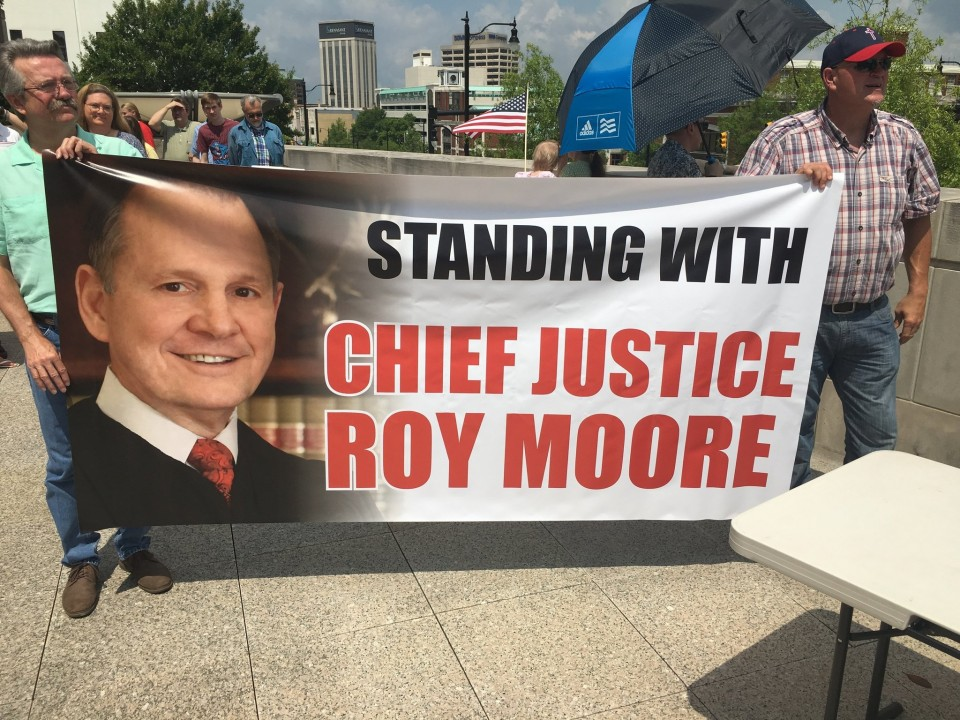 Roy Moore Rally